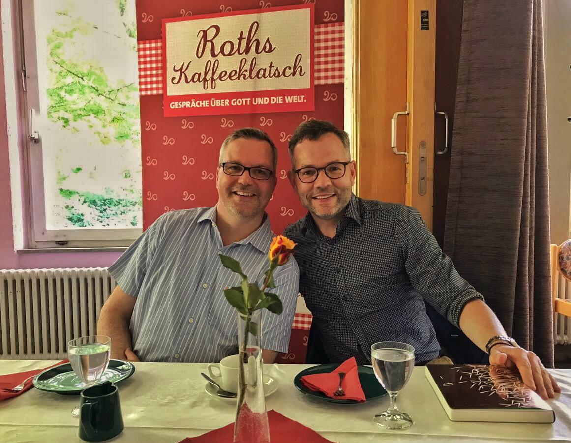 Johannes Scherer zu Gast bei Roths Kaffeeklatsch